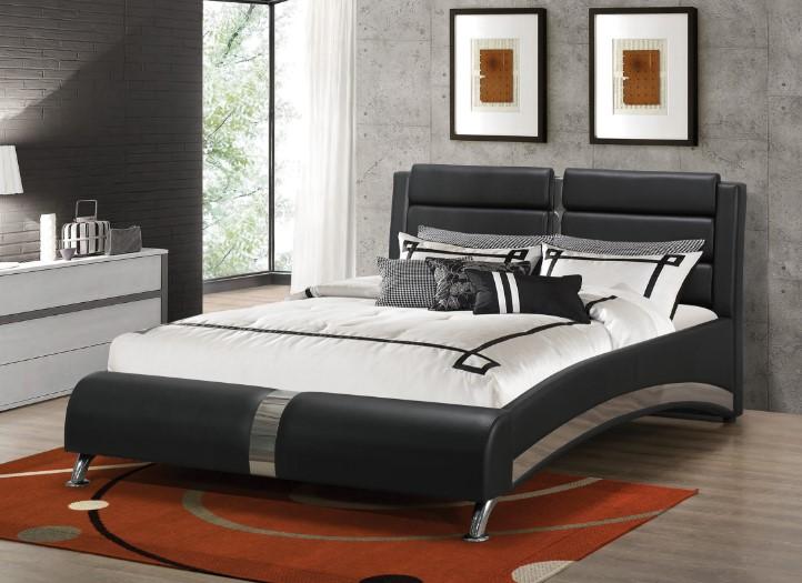 Coaster Furniture 300350Q Jermaine Upholstered Bed