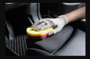 Auto Upholstery Cleaning of Car