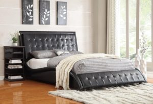 Coaster Queen Bed-Black