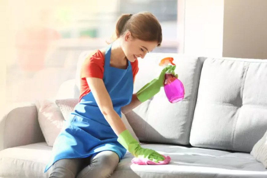 How To Clean Furniture Upholstery In 5 Minutes Or Less