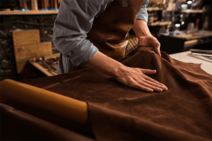 Leather Fabric Upholstery