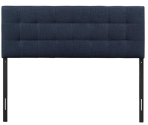upholstered headboard Modway Lily queen Navy