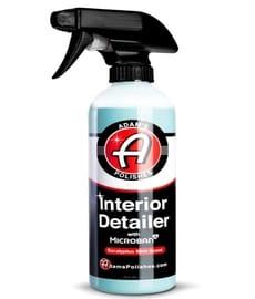 Adam's Microban best interior detailer cleaner spray