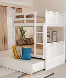 Full Over Best bunk bed with trundle