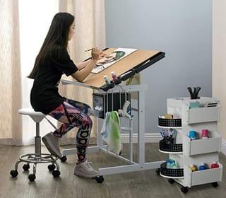 Studio Designs Deluxe Top Adjustable Craft