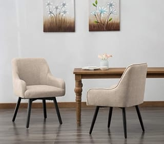 Swivel Dining Chairs Set of 2 Living room