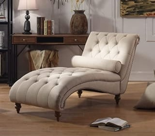Rosevera Teofila Tufted Chaise Lounge Chair