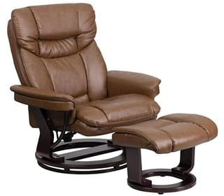 Flash Furniture Multi Position Recliner Leather club chair