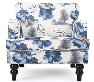 Christopher Knight Boaz Fabric Club Chair