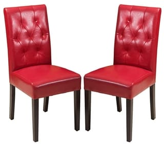 Christopher Knight Home Gentry Leather Dining Chairs
