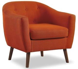 Homelegance Fabric Barrel Chair