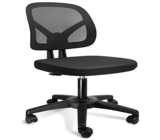 Kolliee Armless mesg office ergonomic chair