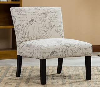 Roundhill Furniture Botticelli Accent Chair