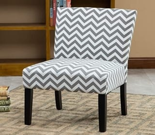 Roundhill Furniture Armless Contemporary Chair